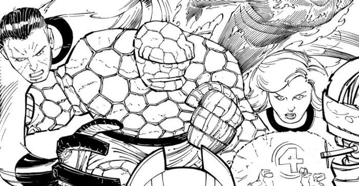 Marvel - Los Cuatro Fantásticos - John Romita Jr.