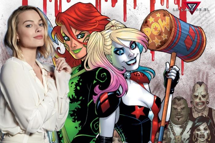 Poison Ivy - Harley Quinn - Margot Robbie - Warner Bros