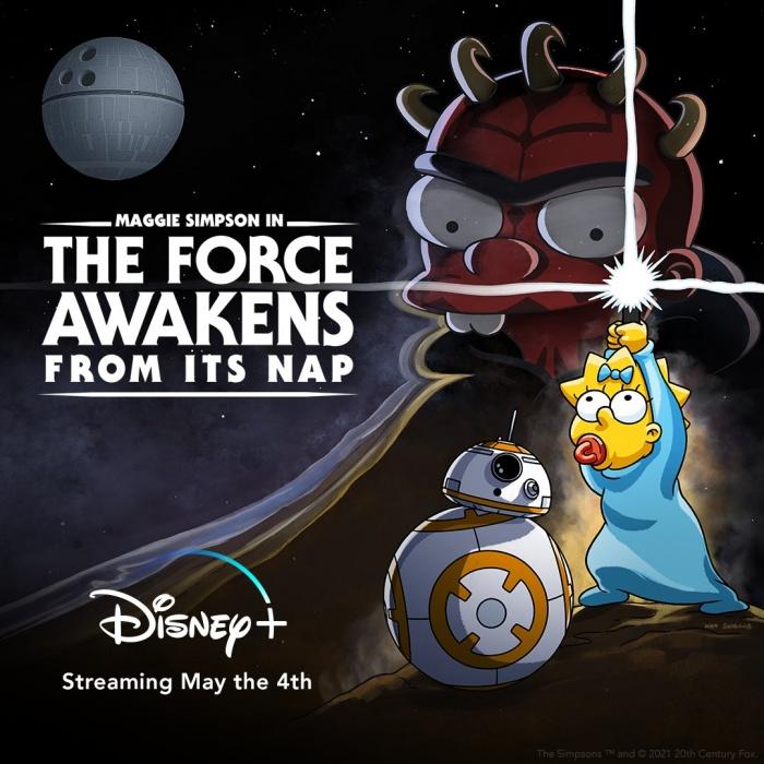 Star Wars Simpson Maggie