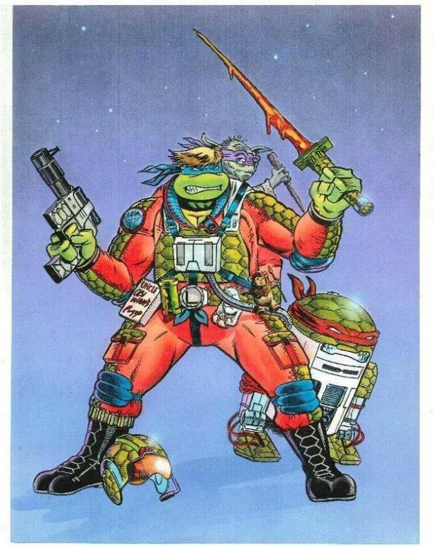 star wars tortugas ninja 2