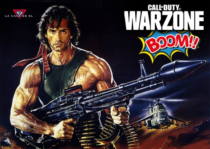 Warzone - Call of Duty - John Rambo - John McClane