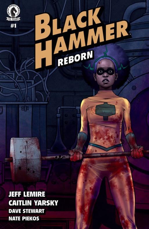 Black Hammer Reborn Jeff Lemire