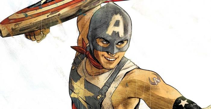 Capitán América Aaron Fischer LGTBI