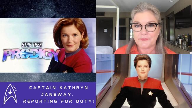 La Capitana Janeway del Voyager volverá en forma de holograma