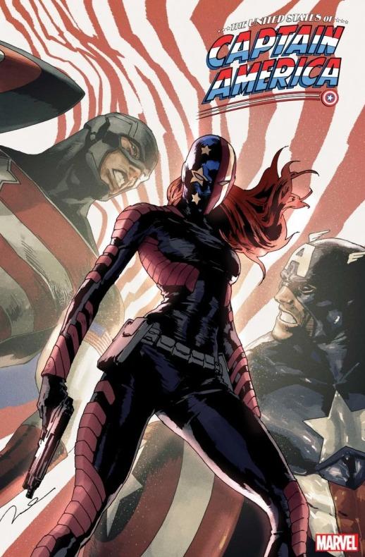 Capitana América - The United States of Captain America