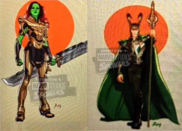 Gamora y su armadura de guerra