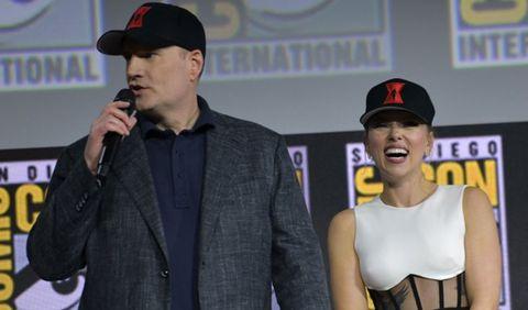 Kevin Feige Viuda Negra Scarlett Johansson