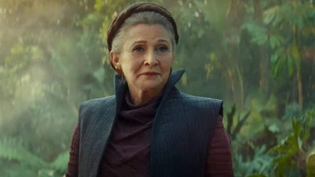 Leia The Rise of Skywalker