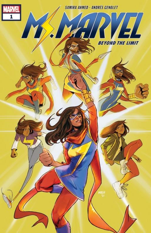 Kamala Khan-Ms. Marvel