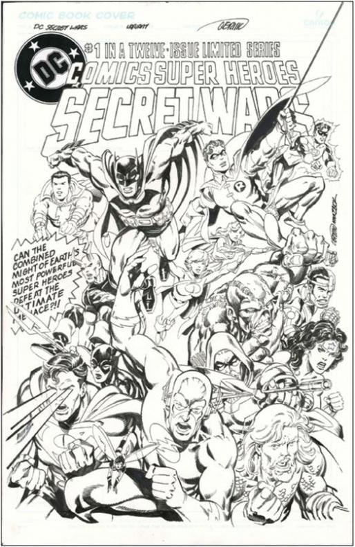 Secret wars DC