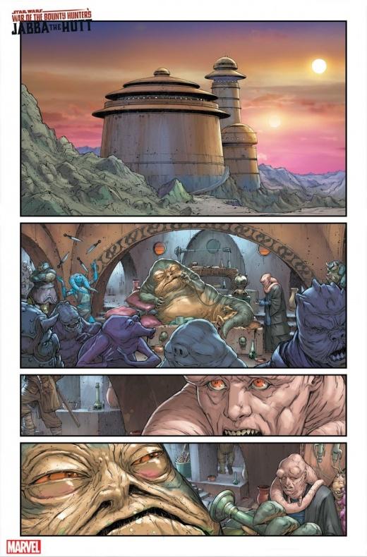 Star Wars Bounty Hunter War Deva Lompop página 3