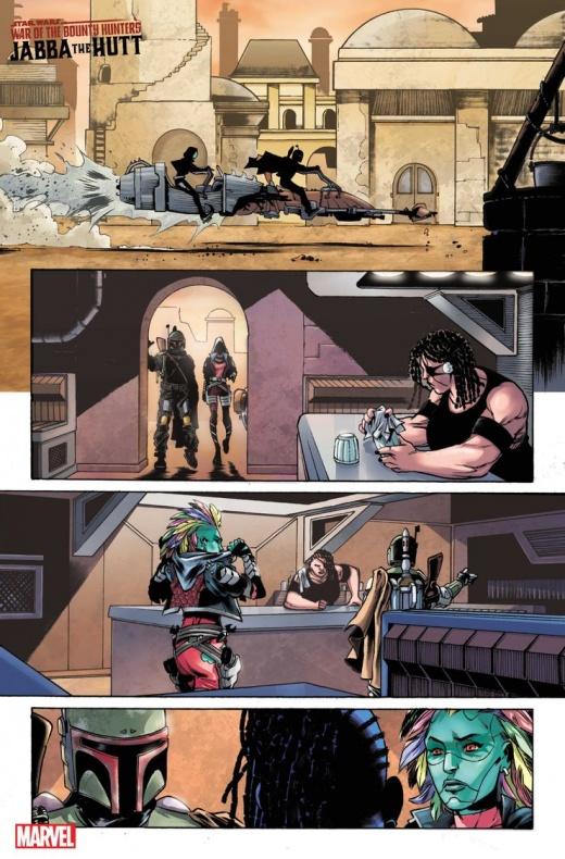 Star Wars Bounty Hunter War Deva Lompop página 1