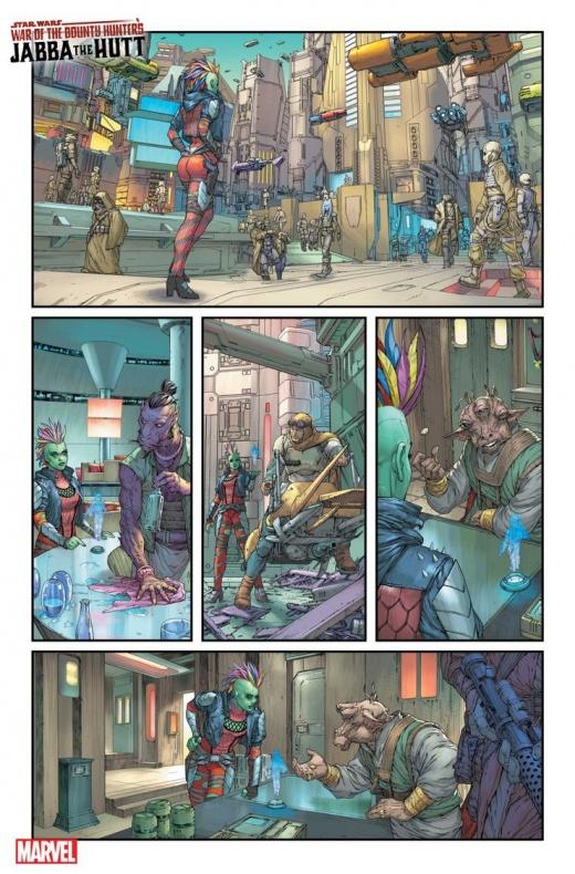 Star Wars Bounty Hunter War Deva Lompop página 2