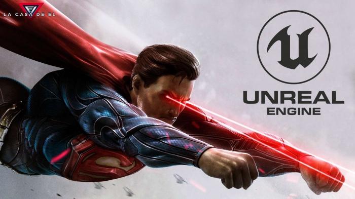 Superman - Unreal Engine 5