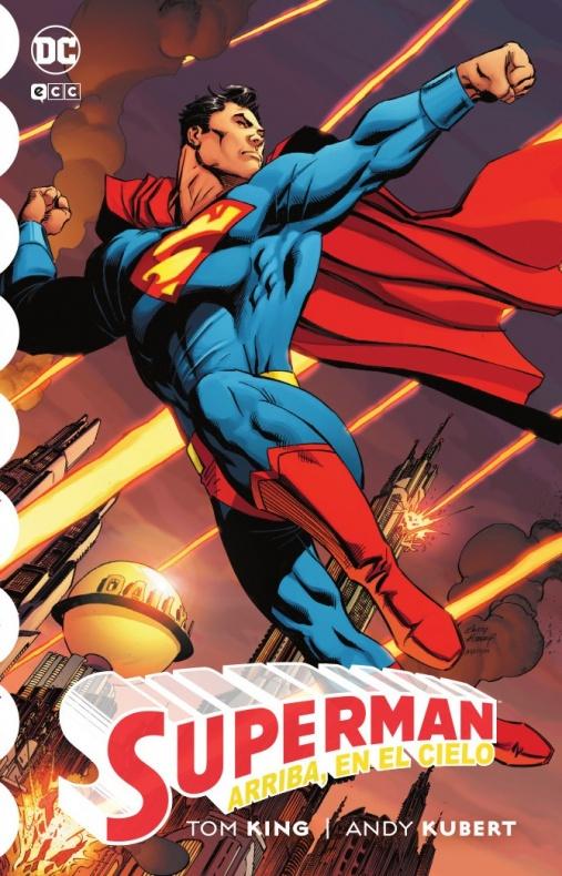 Superman Arriba en el cielo portada DEF