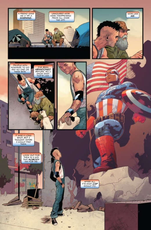 The United State of Captain America 7