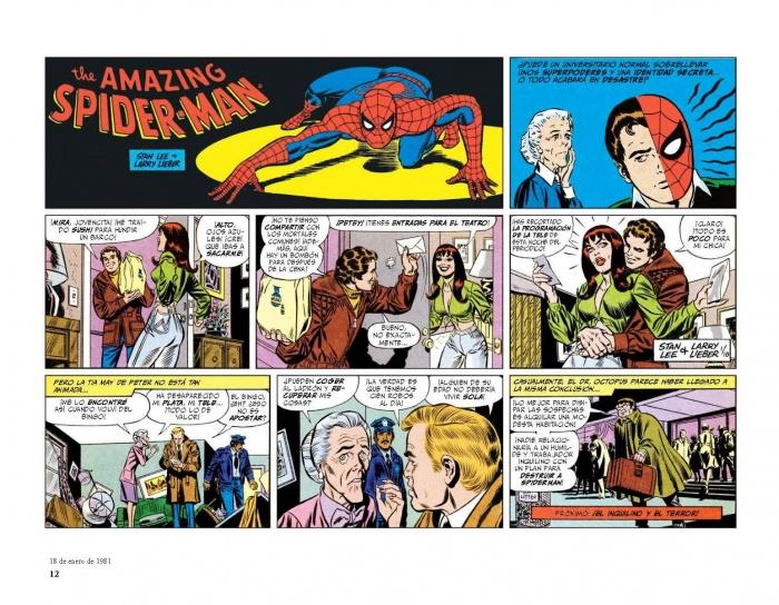 Tiras de prensa Spiderman 1