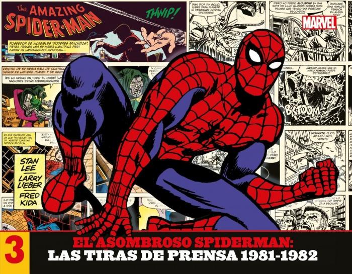 Tiras de prensa Spiderman