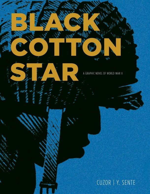 Una Estrella de algodón negro