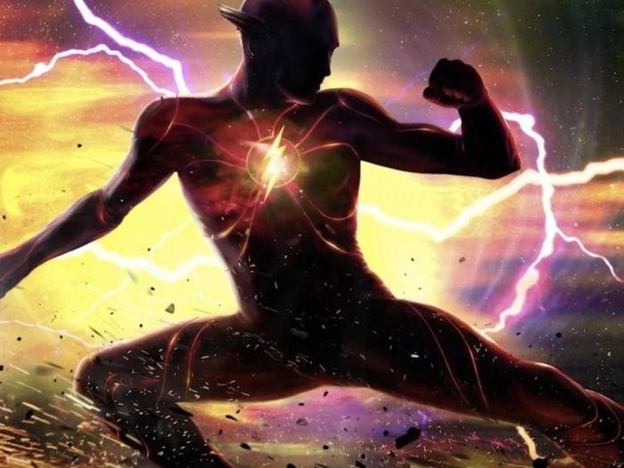The Flash: estrenara un nuevo escudo en la pelicula