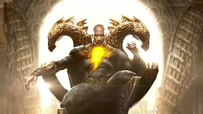 Black Adam - fan poster