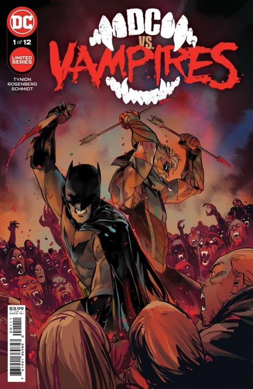 Liga de la Justicia DC vs Vampires
