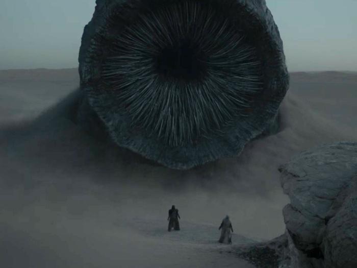 Dune Denis Villeneuve sandworm arrakis