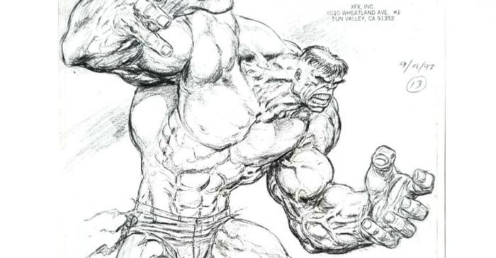 Hulk - animatrónico