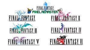 Final Fantasy Pixel Remaster banner