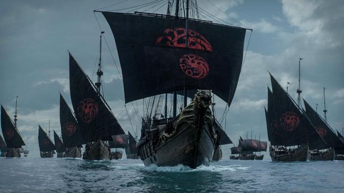 Juego de Tronos HBO barcos 2019