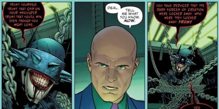 Justice League 8 Lex Luthor The Batman Who Laughs strike a deal