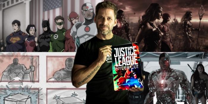 Justice League Snyder Cut Comic Animated Release Script