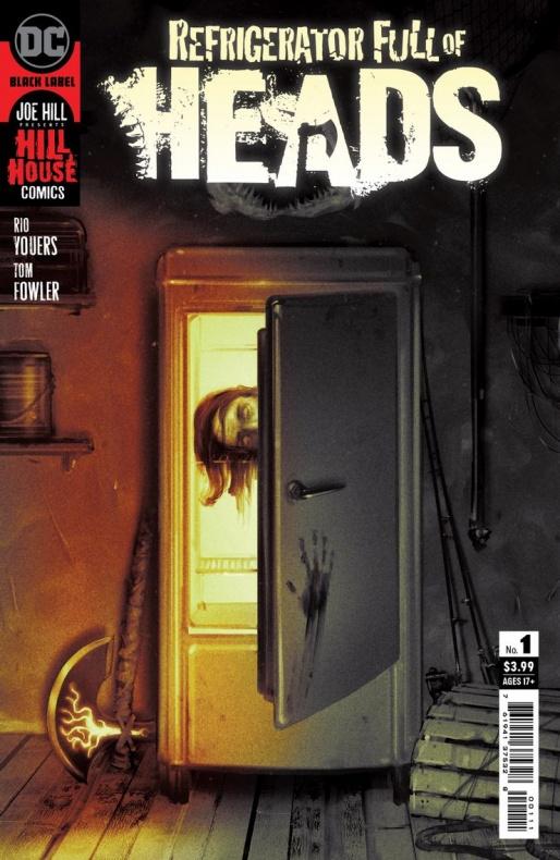 Esta es la portada de la continuación de Un cesto lleno de cabezas de Hill House Comics