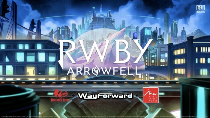 RWBY Arrowfell header