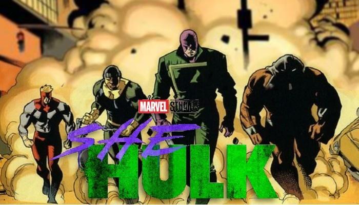 She-Hulk - Brigada de demolición