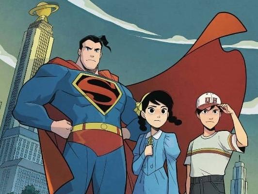 Superman y los ninos chinos