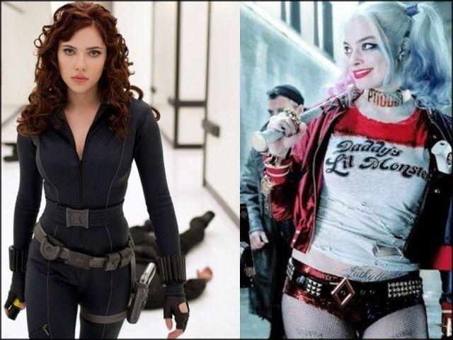 Harley Quinn - Viuda Negra