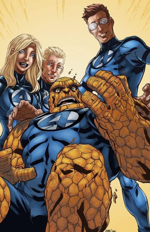 4 Fantásticos - Marvel