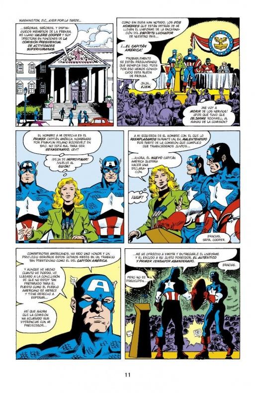 Capitan America de Mark Gruenwald 2