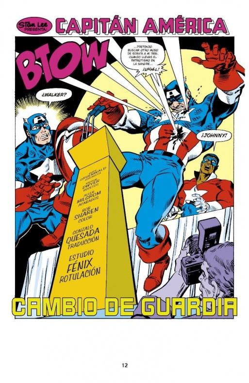Capitan America de Mark Gruenwald 3