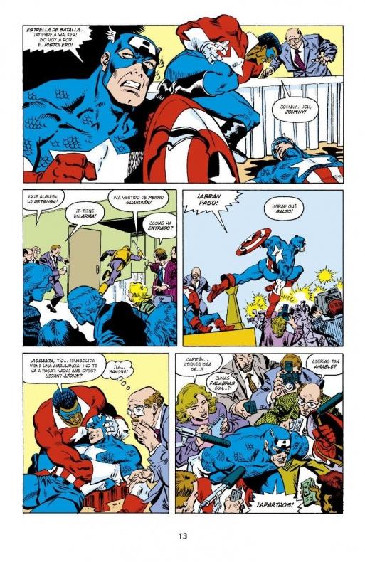 Capitan America de Mark Gruenwald 4