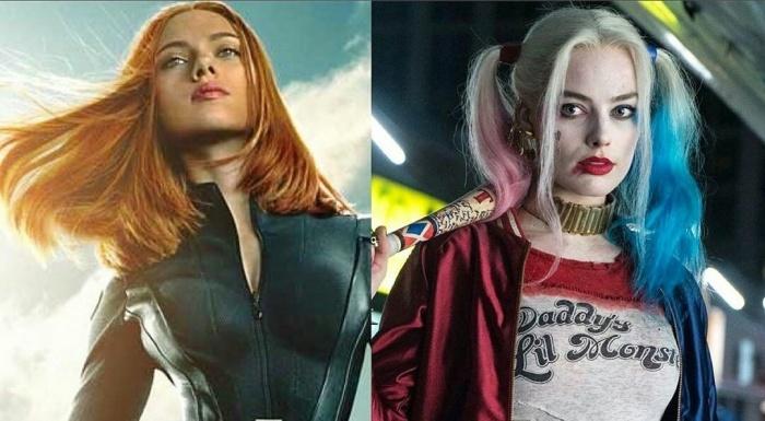 Viuda Negra - Harley Quinn