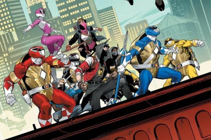Las tortugas ninja y los Power Rangers