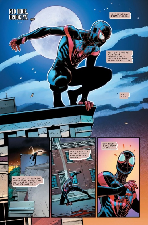 Miles Morales Spider-Man Annual Infinite Destinies 3
