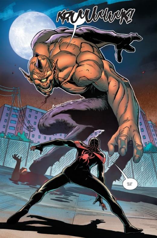 Miles Morales Spider-Man Annual Infinite Destinies 4