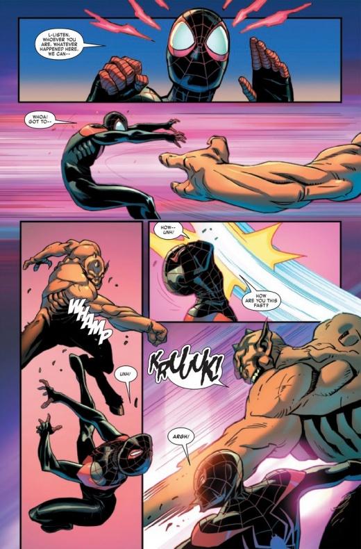 Miles Morales Spider-Man Annual Infinite Destinies 5
