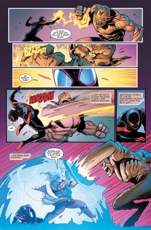 Miles Morales Spider-Man Annual Infinite Destinies 6