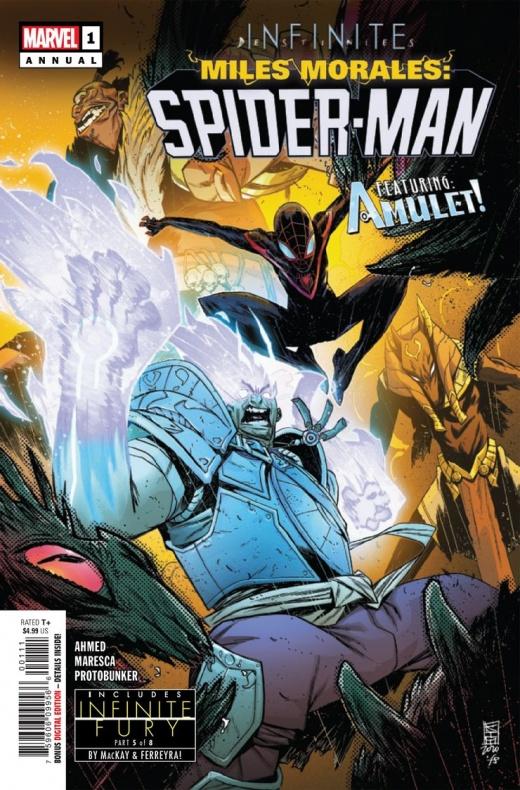 Miles Morales Spider-Man Annual Infinite Destinies