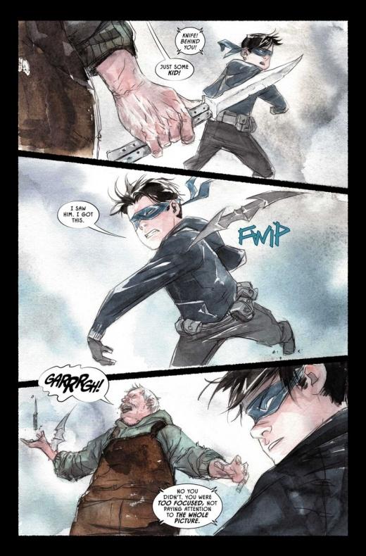 Robin Batman 1 preview A