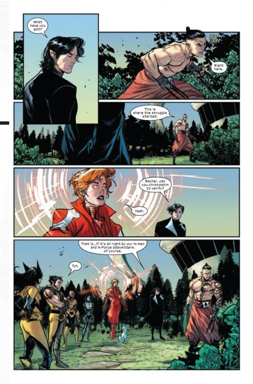 The Trial of Magneto wanda Bruja Escarlata 1